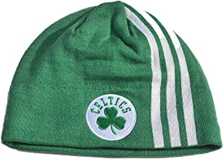 NBA Cuffless Beanie Hat - Basketball Knit Skull Toque Cap
