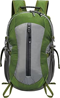 Homdox - Mochila de montaña con silbato salvavidas y bolsillos impermeables, ideal para senderismo, escalada, acampada, viajes, 25 L