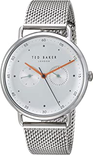 d5ac84dd555bc Ted Baker Men s George Quartz Watch with Stainless-Steel Strap