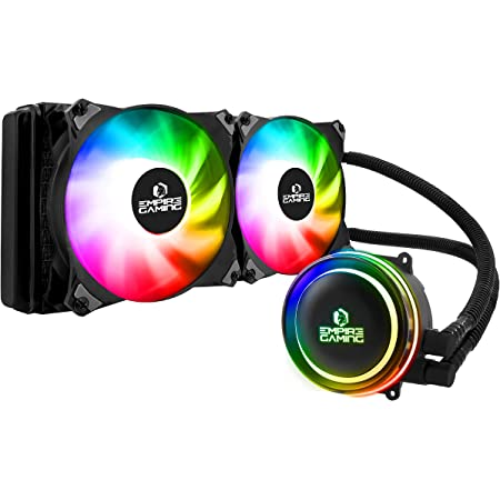 EMPIRE GAMING - Guardian G-V20 Watercooling AIO PC Gamer - Refroidissement Liquide ARGB 3 Pins 5V - Radiateur 240 mm - Ventilateur 2x120 mm PWM Silencieux - Intel et AMD