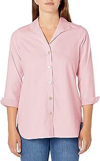 Foxcroft womens Pandora Essential Non-Iron Tunic Tunic Shirt