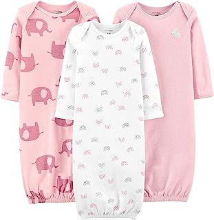 Girls' 3-Pack Cotton Sleeper Gown