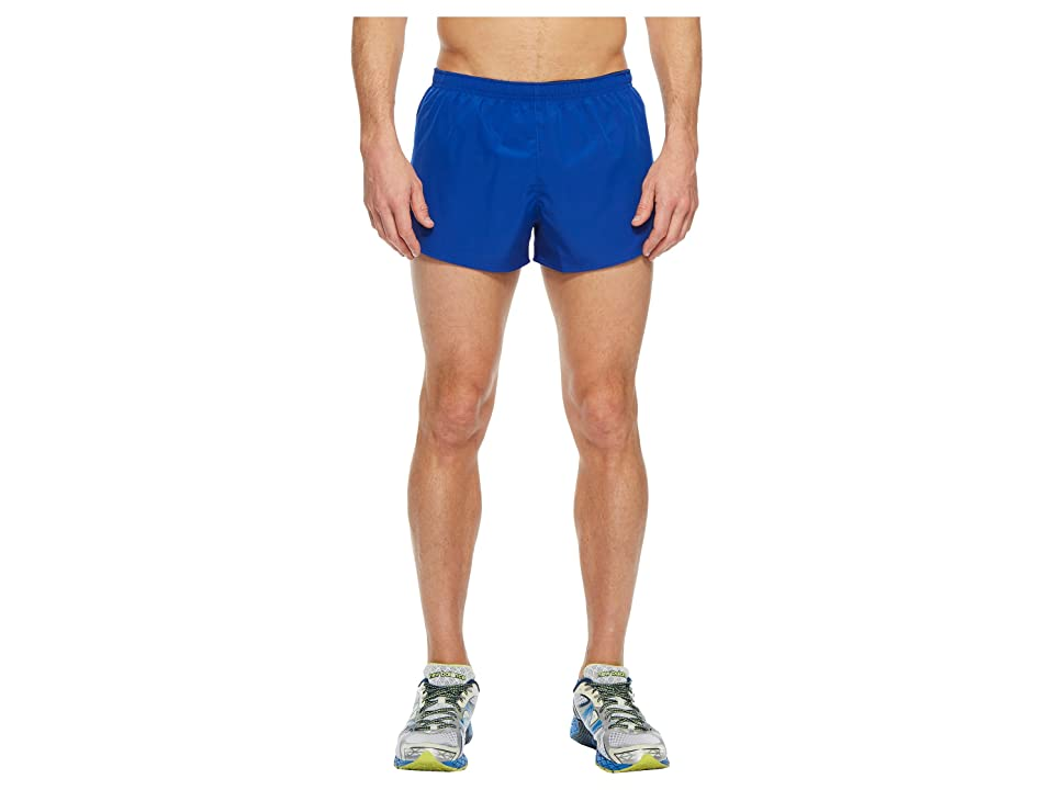 New Balance Accelerate 3 Split Shorts (Team Royal/Black) Men