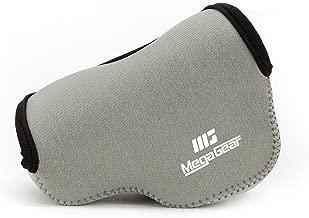 MegaGear MG836 Ultra Light Neoprene Camera Case compatible with Panasonic Lumix DC-LX100 II, DMC-LX100 - Gray