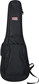 Gator Cases 4G Series Gig Bag For Electric Guitars With Adjustable Backpack Straps; Fits Most Stratocaster and Telecaster Style Guitars (GB-4G-ELECTRIC)