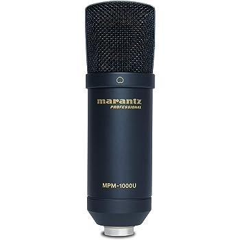 【Amazon限定ブランド】888M マランツプロ USBコンデンサーマイク 在宅勤務 生放送・録音・ポッドキャスト MPM1000U