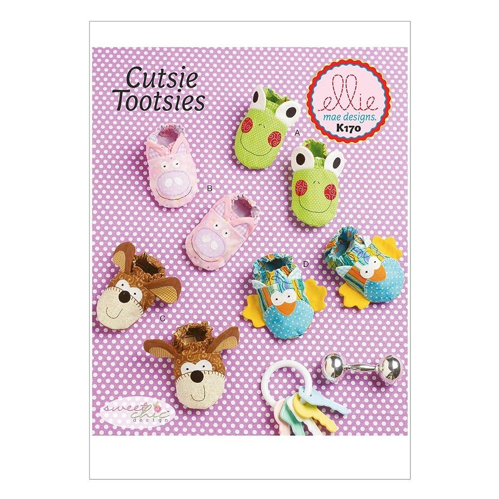 KWIK-SEW PATTERNS K0170 Babies Booties