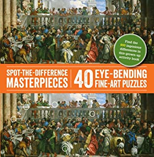 Spot-the-Difference Masterpieces: 40 Eye-Bending Fine-Art Puzzles