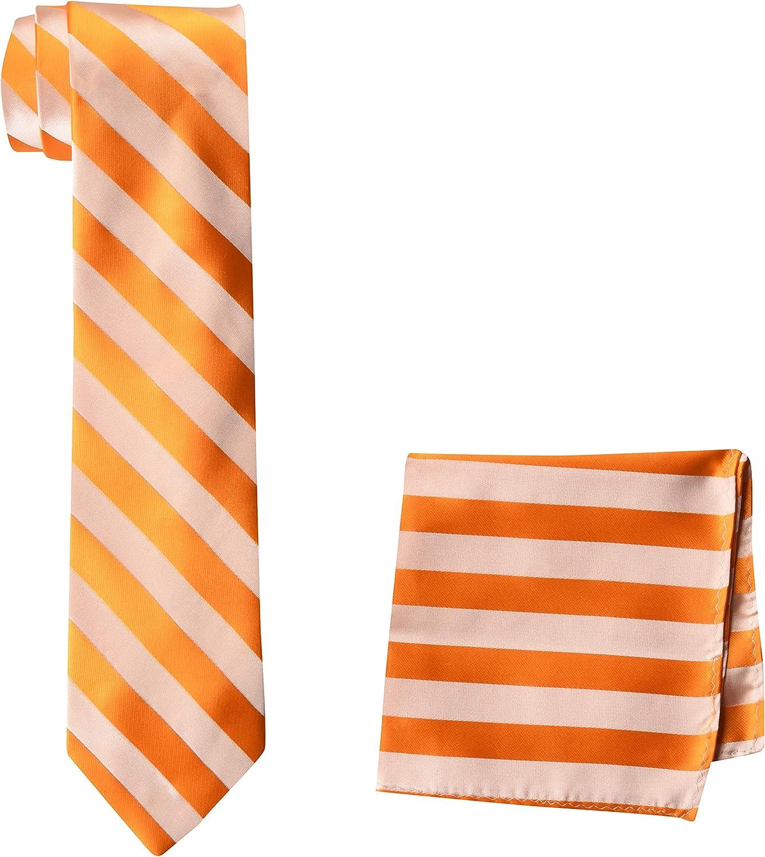 STACY ADAMS mens Stacy Adams Formal Stripe Tie Set