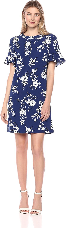 Amazon Brand Tulsa Mall - Lark Ro Women's Ruffle Import Sleeve T-Shir Short Trim