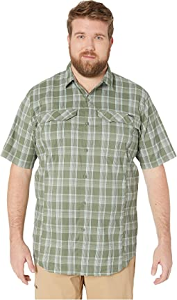 Big and Tall Silver Ridge Lite Plaid Short Sleeve Shirt