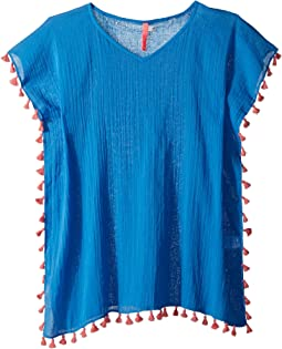 Seafolly Kids Summer Essentials Kaftan Cover-Up (Little Kids/Big Kids)