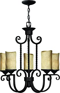 Hinkley 4015OL European Influence Five Light Foyer from Casa collection in Bronze/Darkfinish,