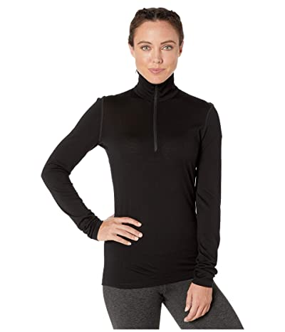 Icebreaker Oasis Long Sleeve Half Zip (Black 1) Women