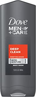 Dove Men Plus Care Body Wash, Deep Clean 13.5 Ounce Deep Clean