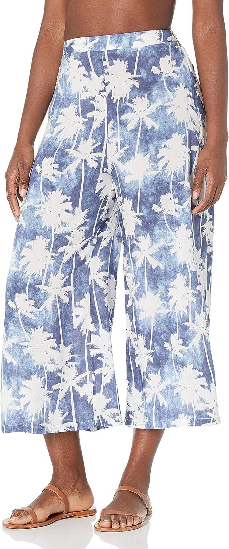 Body Glove Women's Standard Addison Wide Leg Capri Cover-up