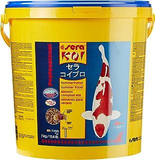 Sera KOI Professional Sommerfutter für die Extraportion Energie bei Temperaturen über 17 °C mit einem ausbalancierten Protein/Fett-Verhältnis