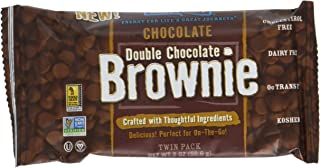 Nature's Bakery Double Chocolate Brownie Twin Packs - 6 CT