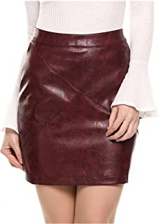 Best leather boots leather skirt Reviews