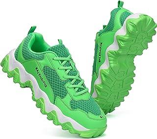 أحذية رياضية Sanearde العصرية للرجال للجري والمشي والتدريب الرياضي خفيف الوزن ومسامي