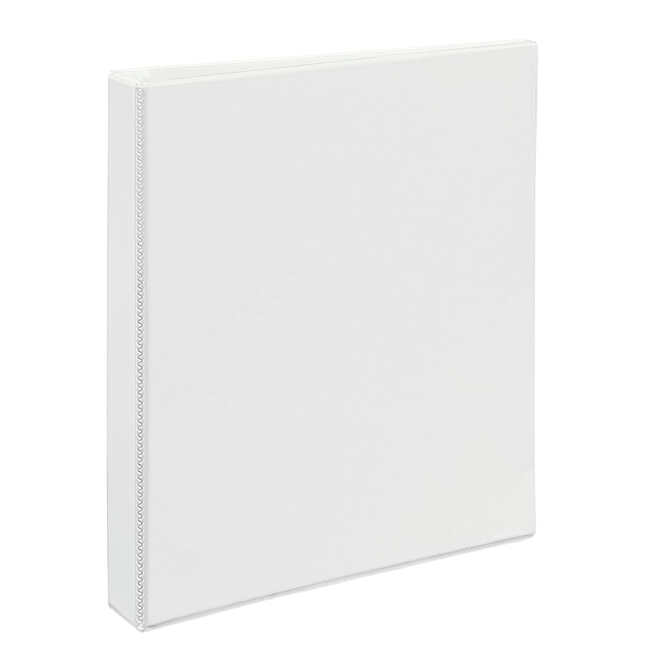 Avery Heavy-Duty Nonstick View Binder, 1 One Touch Slant Rings, 220-Sheet Capacity, DuraHinge, White (05304)