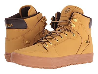 Supra Vaider (Winter) (Amber Gold/Light Gum) Men