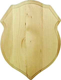 Walnut Hollow Basswood Shield Plaque, 12 by 16-Inch (38824)