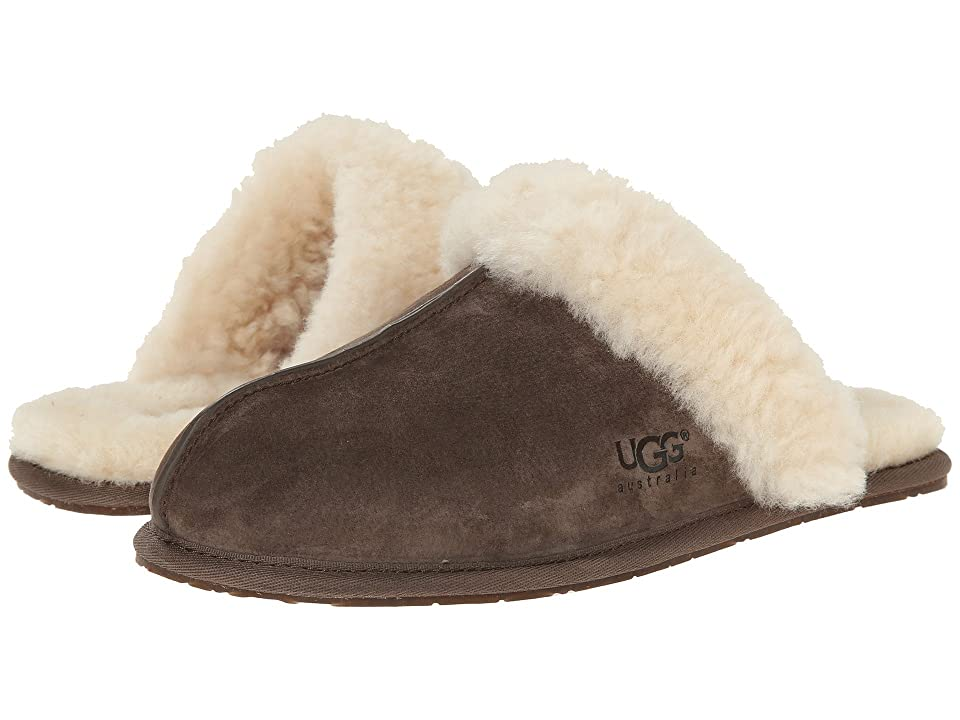 Image of UGG Scuffette II Water-Resistant Slipper (Espresso (Suede)) Women's Slippers