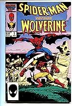 Spider-Man versus Wolverine #1 comic book 1987 Marvel Cross-over VG/FN