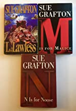 "3 Books! 1) ""L"" is for Lawless 2) ""M"" is for Malice 3) ""N"" is for Noose"