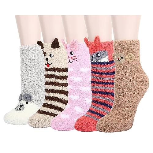 Weird Fuzzy Socks 1