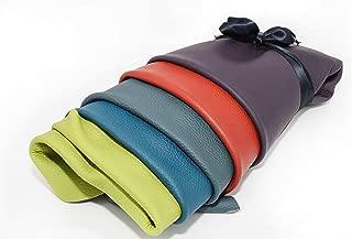 restos de cuero decoraciones restos de cuero verde 1 kg Recortes de cuero alta calidad reparaciones manualidades tama/ño A3 zapatos tama/ños grandes ideal para bolsos