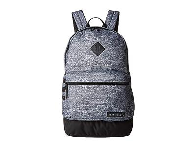 adidas Classic 3S III Backpack (Onix Jersey/Black) Backpack Bags