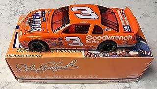 Dale Earnhardt Sr Signed RARE 1997 Wheaties #3 NASCAR 1/24 Diecast Action Car - Autographed Diecast Cars
