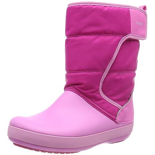 3b2a39fb2f Crocs Kids  Boys   Girls LodgePoint Snow Boot