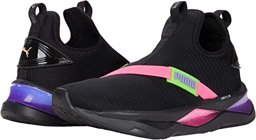Puma Black/Fluo Pink/Fluo Green