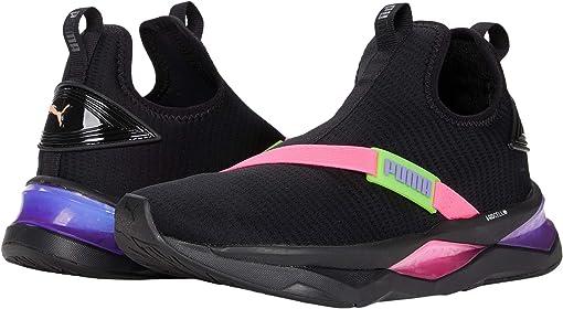 Puma Black/Fluo Pink/Fluo Green