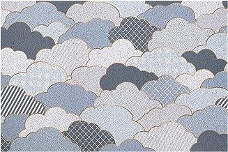 Door Mats, Household Cutable Silk Loop Carpets, Door Anti-Sliprugs, Door Mats, PVC Floor Mats,Blue,120x140cm