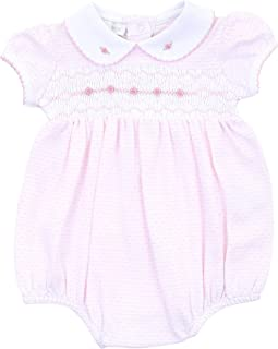 Magnolia Baby Baby Girl One in a Melon Long Pajama Hot Pink