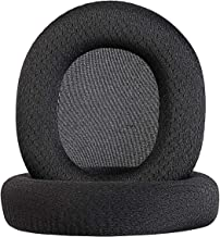 Jewaytec Replacement Ear Pads/Ear Cushion/Ear Cups/Ear Cover for SteelSeries Arctis Pro Arctis 5 Arctis 3 Wireless Game Headphone Repair Parts-Black