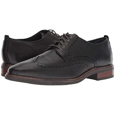 Cole Haan Watson Casual Wingtip Oxford (Black) Men