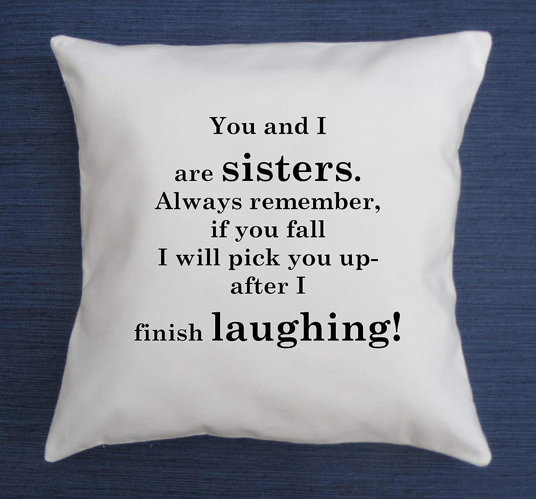San Antonio Mall Sister San Antonio Mall pillow cover Funny birthday gi throw quote