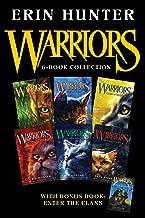 Warriors 6-Book Collection with Bonus Book: Enter the Clans: Books 1-6 Plus Enter the Clans (Warriors: The Prophecies Begin)