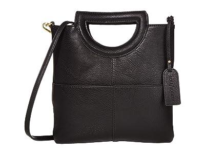 SOLE / SOCIETY Duff Clutch (Black) Handbags