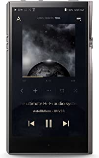 Astell&Kern A&Futura SE100 Titan Silver Hi-Res HD Audio Player with 8-Channel DAC and 128GB