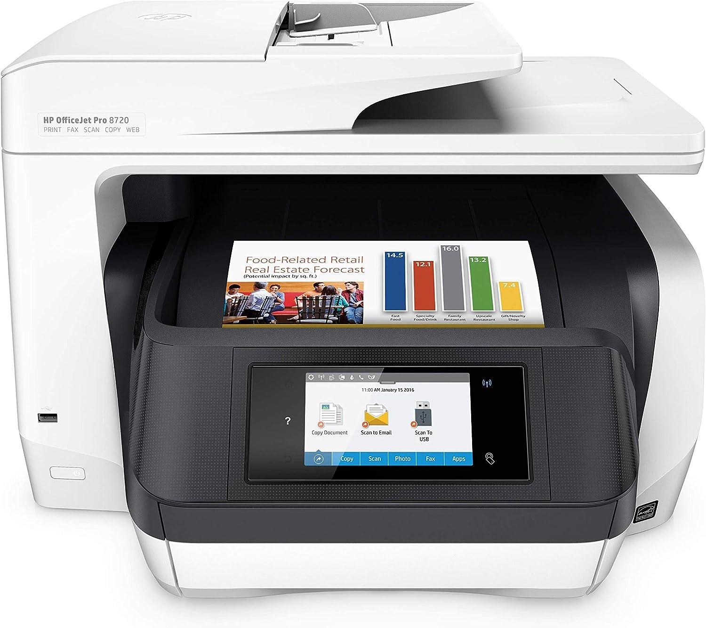 HP OfficeJet Pro 8720 All-in-One Wireless Printer