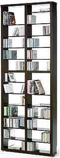Top Kit   Estantería Cds DVDs Berlin 2010   Medidas 208 x 665 x 15 cm   Estantería Libros   Wengue