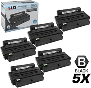 LD Compatible Toner Cartridge Replacement for Xerox Phaser 3320 106R02307 High Yield (Black, 5-Pack)