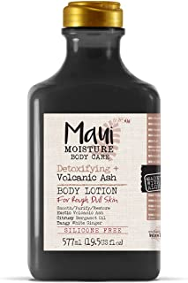 Maui Moisture Body Care Detoxifying Volcanic Ash Body Lotion, 19.5 Fl Oz Bottle (18283)