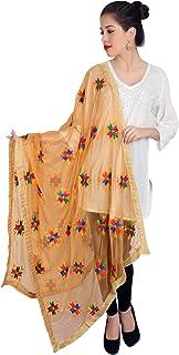 Wrap Designer formal wedding Suit Duppata Light Yellow